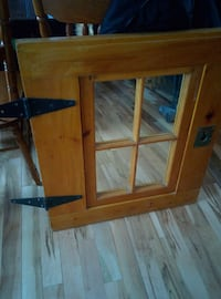 heavy dutySolid wood mirror half door Clarence-Rockland, K0A 1E0