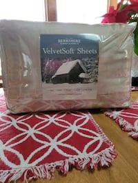 Brand new Cal. King size Berkshire VelvetSoft sheet set color Taupe