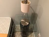 2 end tables marble stands glass top.matching sm marble coffee tab ! Saint Leonard, 20685