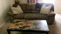 Have two brown microfiber couches both are in great condition.  West Des Moines, 50265