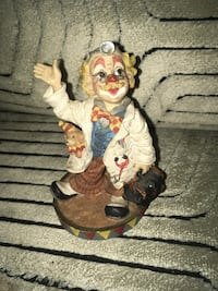 Cotton candy clown figurine vintage 1998 Baltimore, 21222