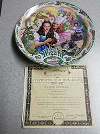 The Wizard of Oz decorative plate