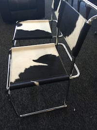 Brand new authentic cowhide chairs Waldorf