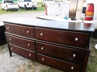 Antique dresser and side table. Obo Sand Springs, 74063