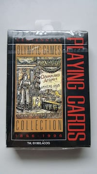 Atlanta 1996 Centennial Olympic Game Playing Cards
