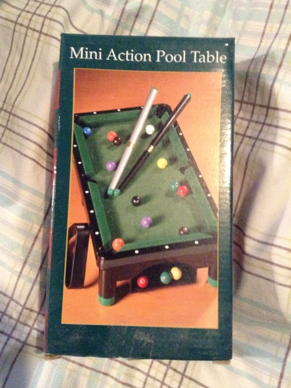 Used Mini Action Pool Table Box For Sale In Montréal Letgo - Used mini pool table