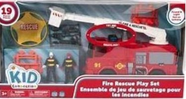 BRAND NEW FIRE RESCUE PLAY SET
