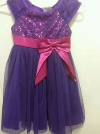 Sparkly purple girl dress  Toronto, M3C 1G7