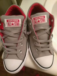 pair of gray Converse All Star low-top sneakers Fresno, 93705