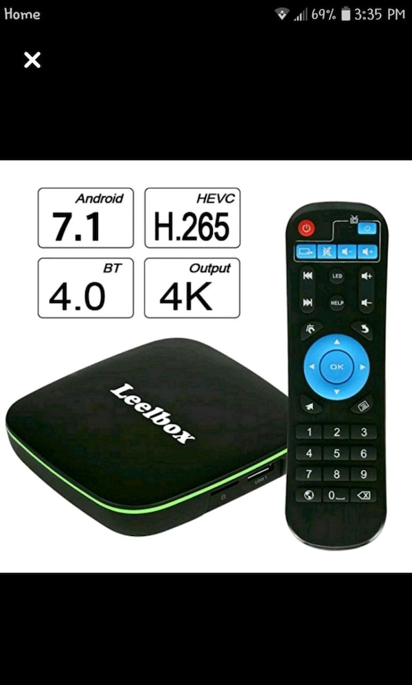 Android TV box(FULLY LOADED free EVERYTHING)