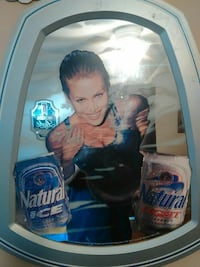 Natural Ice and Light cans poster Charleston, 25320