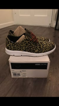 Like New Vans OTW collection (Leopard Camo) Size 10 $25 OBO Los Angeles, 90017