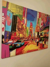 New York Times Square canvas  San Angelo, 76901