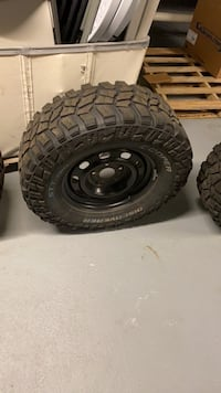 Rims and tires cooper brand for sale price is negotiable.