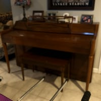 Upright piano and stool Baltimore, 21239