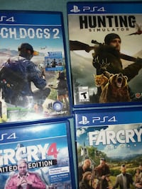 Watchdogs2, Hunting simulator, Far cry 4,5 Grove, 74344