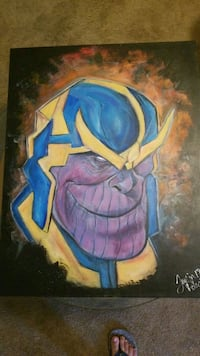 22 × 28 thanos painting  San Angelo, 76901