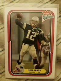 Tom Brady card Indianapolis, 46236