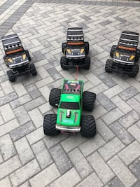 4 Remote controlled trucks. Manassas, 20112