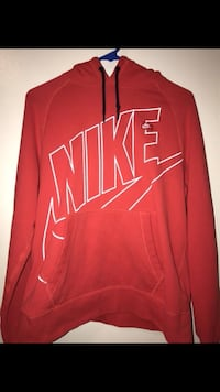 red and white Nike pullover hoodie Chandler, 85225