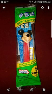 Vintage mickey mouse pez dispenser  Henderson, 89014