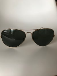 black Ray-Ban Aviator sunglasses with black frames Toronto, M4S 3A8