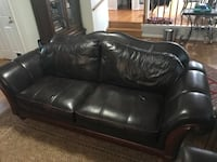 "Leather sofa - 94"" Long  Fairfax, 22030"