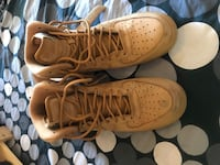 Nike Air force 1 desert tans highs Vancouver, V5Y 2W3