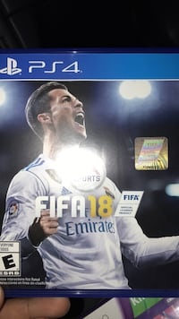 Fifa 18 game- PS4 Glendale, 91210
