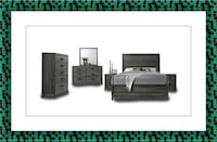 11pc Kate bedroom set free mattress and delivery District Heights, 20747