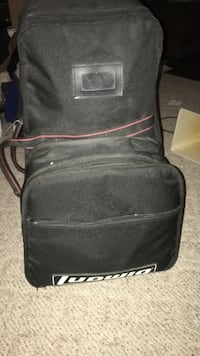 Black ludwig sports bag with everything included 34 km