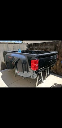 2019 Chevy Truck bed and bumper