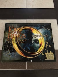 Lord of the Rings Puzzle Book