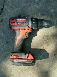 red and black Black & Decker cordless hand drill Edmonton, T5G 2L3