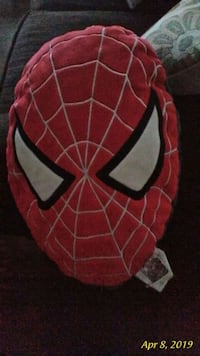 Spiderman pillow.... ( red & black )