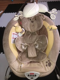 Baby seat , vibrates and plays music