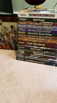 Pathfinder Book Collection