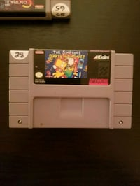 The Simpsons Bart's Nightmare for SNES  Vaughan, L4L