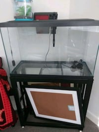 Fish tank with stand 29 gallon