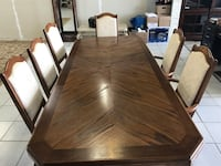 Dining Table And Chairs w/ Egyptian Rug Toronto, M6M 1S8