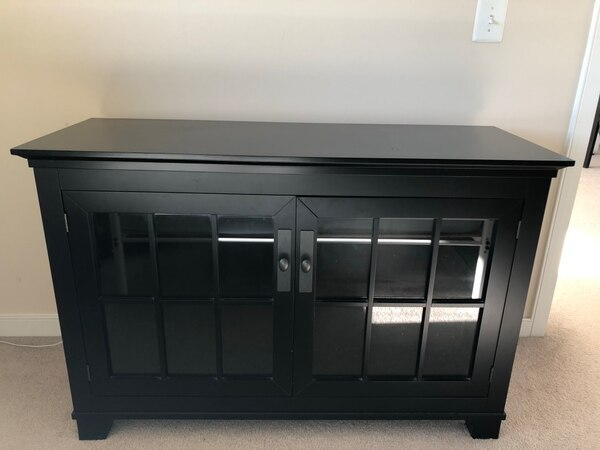 Crate and Barrel TV chest
