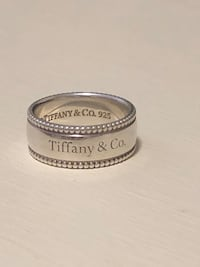 Tiffany & Co. beaded ring sz 6 NEW PRICE!