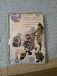 Clear stroller cover 54 km
