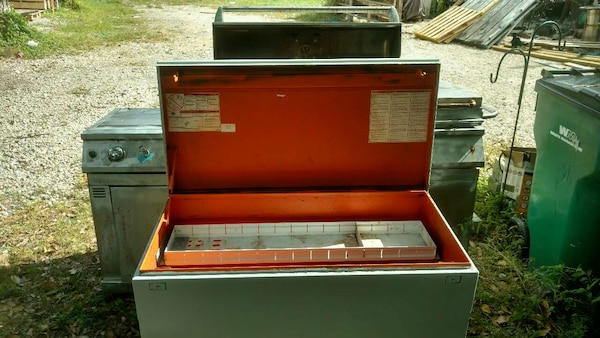 used large tool safe gang box. for jobsite or truck bed for sale in ...