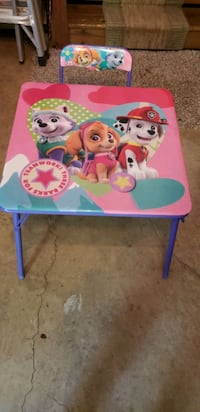 Paw Toddler Table with Chair  Virginia Beach, 23464