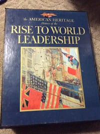 JR  The American Heritage History of The Rise To World Leadership Rockville