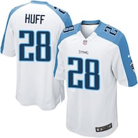 NIKE NFL TENNESSEE TITANS NUMBER 28 JOHNSON JERSEY