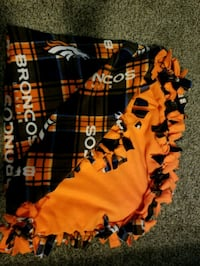 Broncos Tie Blanket  Lincoln, 68528