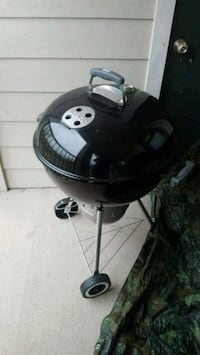 black and gray charcoal grill 5 km