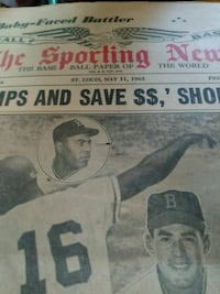 1963 The Sporting News Falls Church, 22042